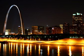 St. Louis Night Image